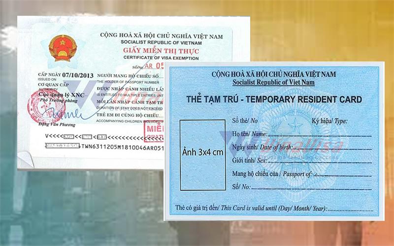 Vietnam Temporary Residence Card